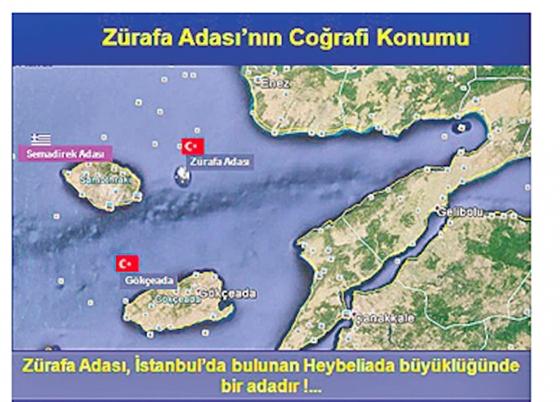 """""""Η Ζουράφα είναι δική μας,την κατέχουν παράνομα οι Έλληνες"""", λένε οι Τούρκοι"""
