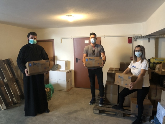 Στήριγμα για 130 οικογένειες η Ιερά Μητρόπολη Αλεξανδρούπολης