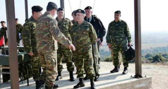 Ο Αρχηγός Στρατού στον Έβρο