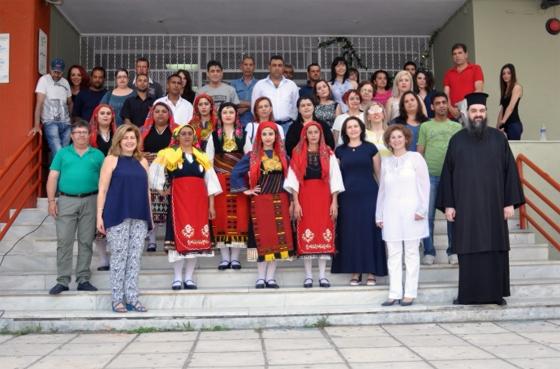 Φωτογραφία από την ημερίδα:  Εκπαιδευόμενοι και εκπαιδευτές του σχολείου