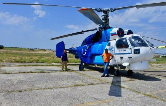 Το ρωσικό ελικόπτερο τύπου Kamov 32c