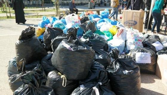 Ορεστιάδα: Τρεισήμισι τόνοι καπάκια για τον Νομαρχιακό Σύλλογο Α.με.Α