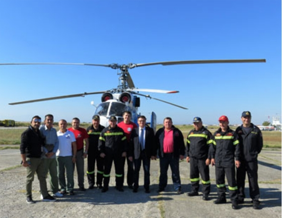 Με θετικό πρόσημο κλείνει η φετινή αντιπυρική περίοδος - 600 ρίψεις πραγματοποίησε το πυροσβεστικό ελικόπτερο
