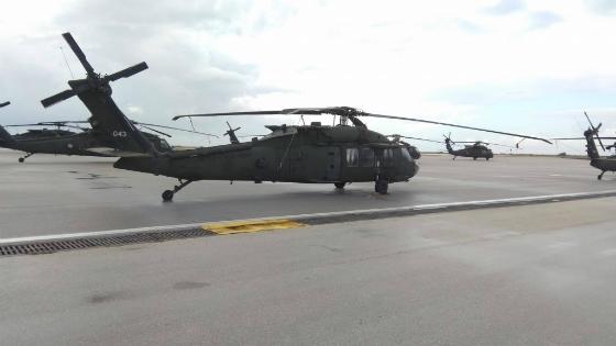 Αλεξανδρούπολη: Έφτασαν τα πρώτα Αμερικανικά ελικόπτερα στην Αλεξανδρούπολη