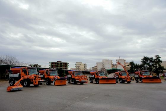 6 εκχιονιστικά οχήματα δώρισε ο ΤΑP στην Περιφέρεια ΑΜΘ