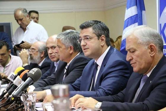 Δημοψήφισμα για την ονομασία των Σκοπίων ζητά η ΚΕΔΕ –  «Παρόντες» Β.Λαμπάκης & Χ.Μέτιος