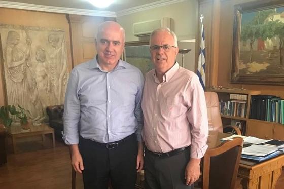 Ο Χρήστος Μέτιος & ο Βαγγέλης Αποστόλου