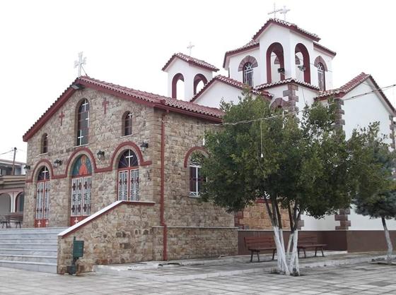Ο Ι.Ν Αγίας Μαρίνας στο Μαΐστρο Αλεξανδρούπολης