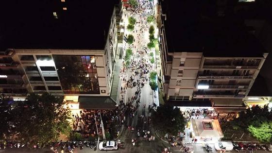 Η Λευκή Νύχτα Αλεξανδρούπολης 2018 από ψηλά!