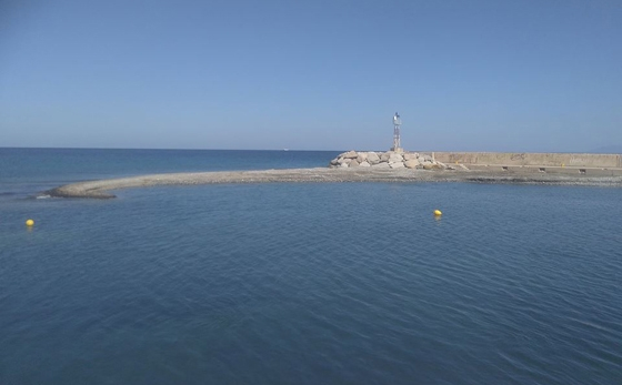 Το λιμάνι στα Θέρμα Σαμοθράκης σήμερα