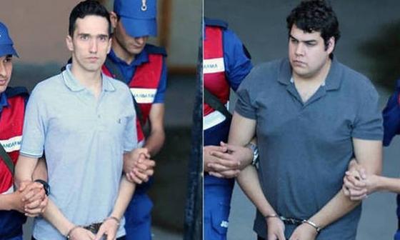 Ελεύθεροι οι δύο Έλληνες στρατιωτικοί - εν αναμονή της δίκης
