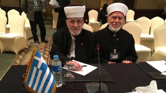 Από αριστερά ο Τζεμαλή Μέτσο & ο Μεχμέτ Σινίκογλου
