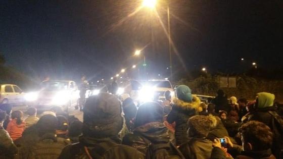 1 χρόνος φυλάκιση στους μετανάστες που έκαναν κατάληψη στον Κόμβο Καβύλης στην Ορεστιάδα
