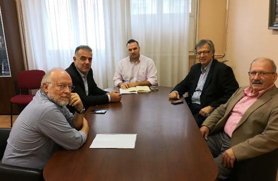 Θ.Βίτσας, Π.Παπάς, Γ.Καΐσας & ο αναπλ. ΓΓ του ΥΠΥΓ Στ.Βαρδαρός