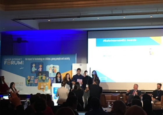 Οι μικρές ιδιοφυΐες από το Τυχερό παραλαμβάνουν το βραβείο τους!