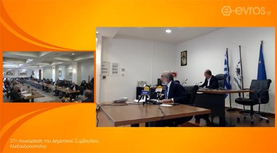 Ένταση στο Δημοτικό Συμβούλιο για την καθαριότητα - τι απαντά ο Δήμαρχος Αλεξανδρούπολης