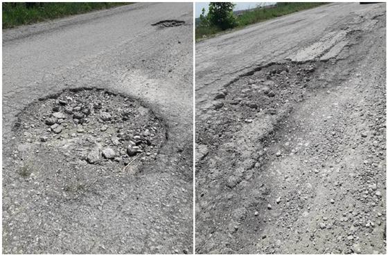 Η κατάσταση του οδικού δικτύου στο τμήμα Νεοχώρι-Χελιδόνα