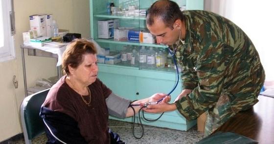 Στρατιωτικός γιατρός στο Νεοχώρι & το Φυλάκιο Ορεστιάδας για δωρεάν εξετάσεις