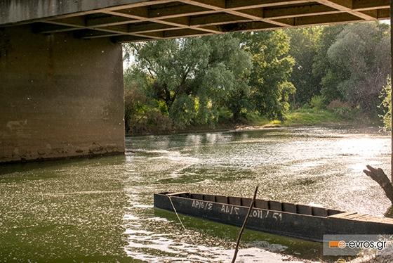 Τα δύσκολα πέρασαν: πτώση της στάθμης στον ποταμό Έβρο