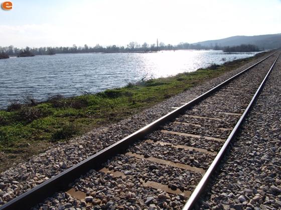 Ο ποταμός Έβρος έξω από τους Ψαθάδες Διδυμοτείχου