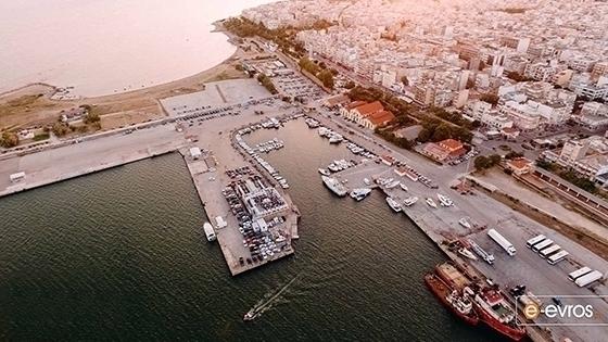 """""""Έπεσαν"""" οι υπογραφές για την αναβάθμιση χερσαίων εγκαταστάσεων στο λιμάνι της Αλεξανδρούπολης"""