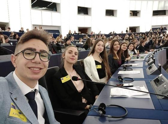 τα παιδιά μας στο Ευρωκοινοβούλιο