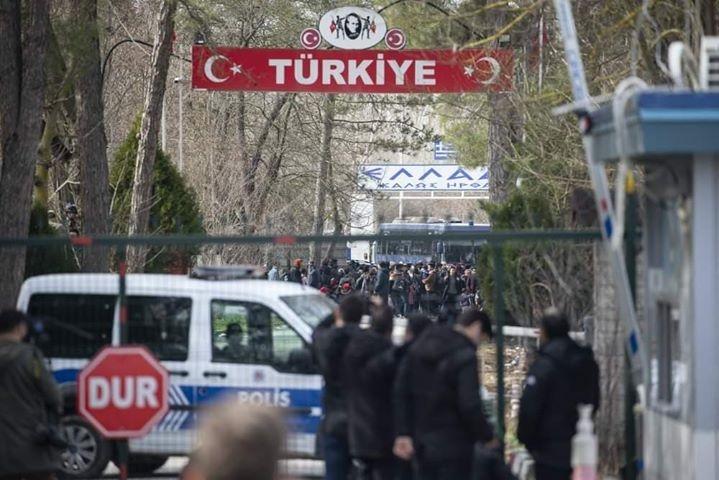 Φωτογραφία από τα σύνορα του Έβρου - Τούρκικη πλευρά