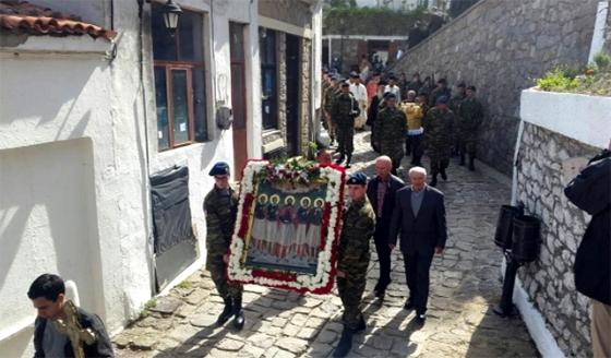 Με λαμπρότητα εορτάστηκε η μνήμη των Αγίων Πέντε Νεομαρτύρων στη Σαμοθράκη (φώτο)
