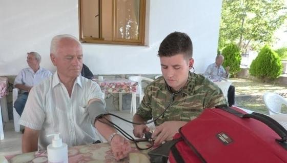 Δωρεάν ιατρικές εξετάσεις στο χωριό Δίλοφο Ορεστιάδας από στρατιωτικό ιατρικό κλιμάκιο