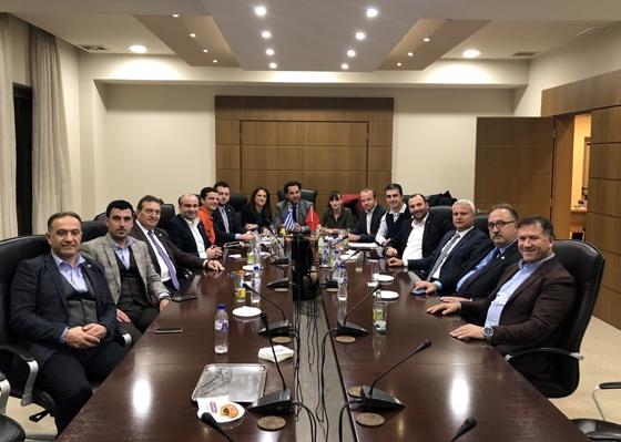 Στιγμιότυπο από την χθεσινή συνάντηση