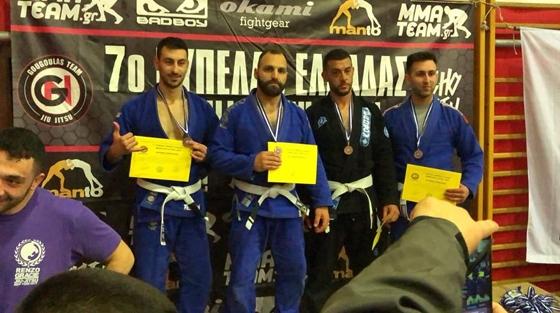 7ο Κύπελλο Ελλάδος Brazilian Jiu Jitsu: Χρυσό για τον Αλεξανδρουπολίτη Δημήτρη Κώτσιο