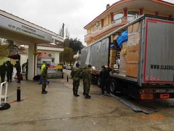Δωρεά 25 τόνων νοσοκομειακού & ιατροτεχνολογικού εξοπλισμού στα νοσοκομεία του Έβρου
