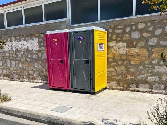 Τοποθετούνται 15 χημικές τουαλέτες σε διάφορα σημεία της Αλεξανδρούπολης