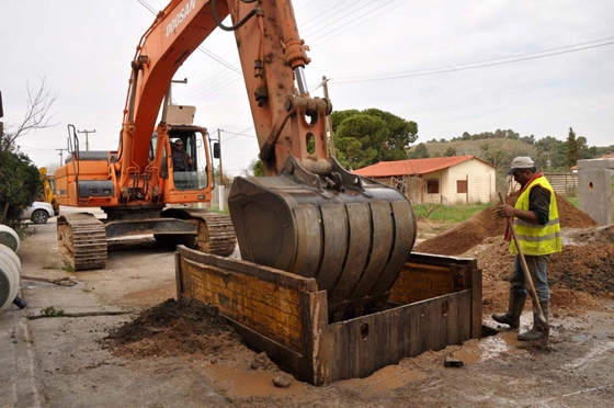 Κατασκευή δικτύων αποχέτευσης και εγκαταστάσεων επεξεργασίας λυμάτων στη Νέα Βύσσα