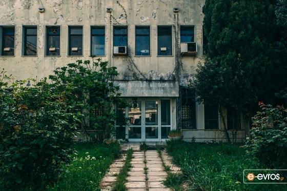 Συνεχίζονται οι κλοπές και οι λεηλασίες στο παλιό Νοσοκομείο της Αλεξανδρούπολης