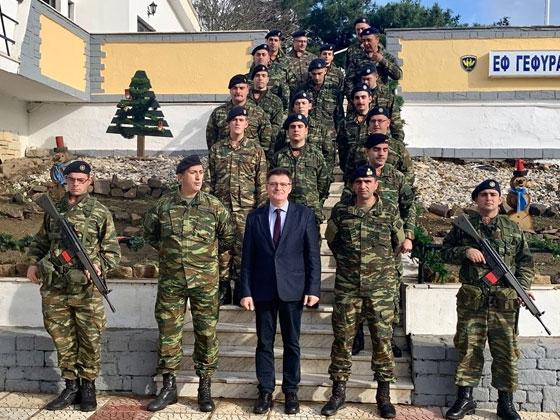 Στρατιωτικά φυλάκια & σημεία ελέγχου της ΕΛΑΣ στον Έβρο επισκέφτηκε ο Αντιπεριφερειάρχης Έβρου