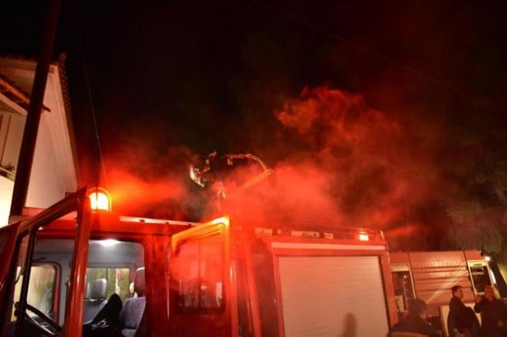 Νεκρό παιδί από πυρκαγιά σε σπίτι στην Κομοτηνή