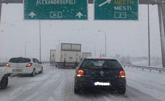 """Συμβουλές για ασφαλή οδήγηση το χειμώνα από την """"Εγνατία Οδός Α.Ε"""""""
