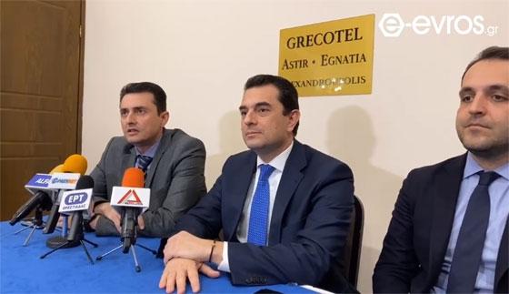 Κ. Σκρέκας από Αλεξανδρούπολη: Η Ελλάδα πρέπει να προετοιμαστεί για τη νέα αγροτική πολιτική 2021-2027
