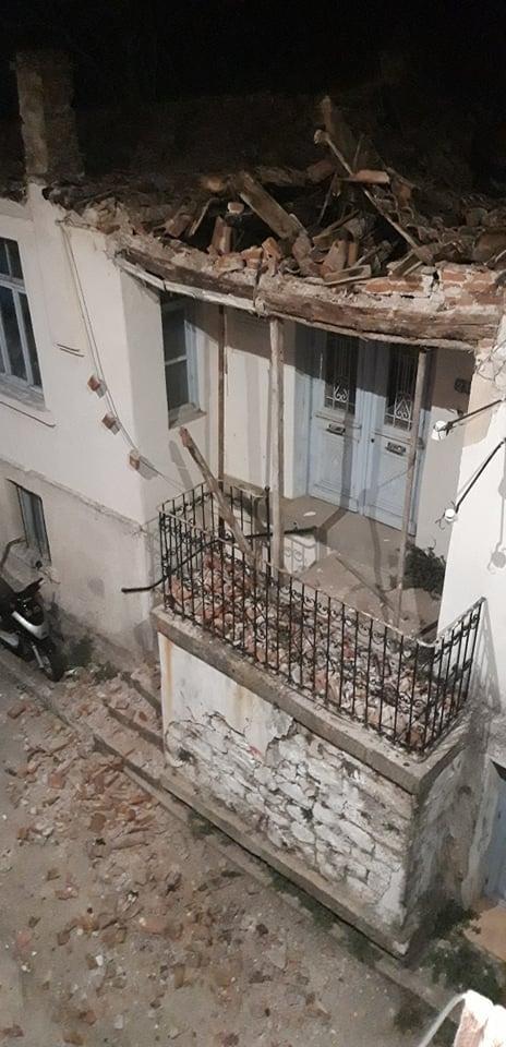Καταστράφηκε η στέγη ιστορικού κτιρίου που λειτουργούσε ως εργαστήρι αγγειοπλαστικής στο Διδυμότειχο