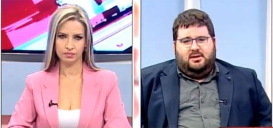 Οι δημοσιογράφοι Χριστίνα Κουματζίδου & Αντώνης Τελόπουλος