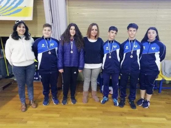 Συνεχίζονται οι επιτυχίες του τμήματος Badminton του ΜΓΣ Εθνικός