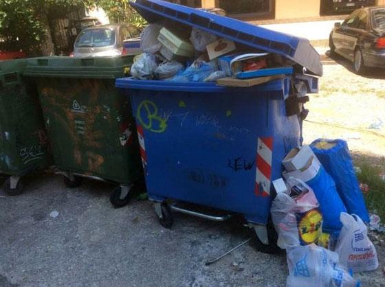 Έκκληση δήμου Αλεξανδρούπολης: Μην αφήνετε σκουπίδια έξω από τους κάδους