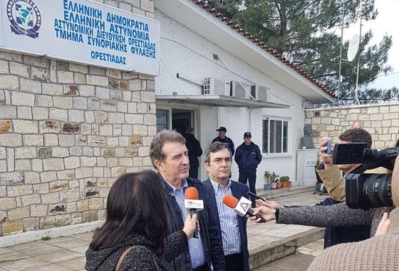 Ηλεκτρονικό φράκτη με κάμερες στήνει η κυβέρνηση στον Έβρο - Νέα επίσκεψη του Χρυσοχοΐδη