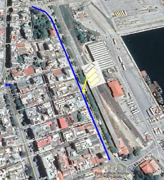 Eφαρμογή πλάγιας στάθμευσης βόρεια της οδού Καραολή & Δημητρίου στην Αλεξανδρούπολη