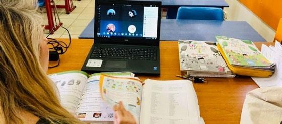 Κορονοϊός: Σε 49 νομούς τέθηκαν σε λειτουργία τα εξ' αποστάσεως μαθήματα