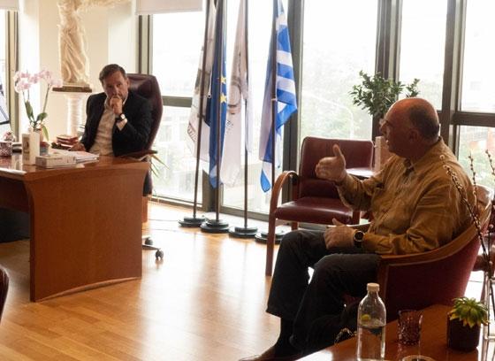 Η συνεργασία του Δήμου Αλεξανδρούπολης με την εταιρία TAP AG συνεχίζεται σε άριστο κλίμα