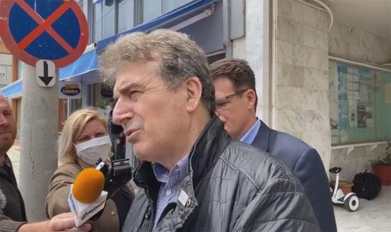 """Χρυσοχοΐδης από τον Έβρο: """"Δεν συμβαίνει τίποτα έκτακτο, τίποτα το οποίο πρέπει να μας ανησυχεί"""" (vıdeo)"""