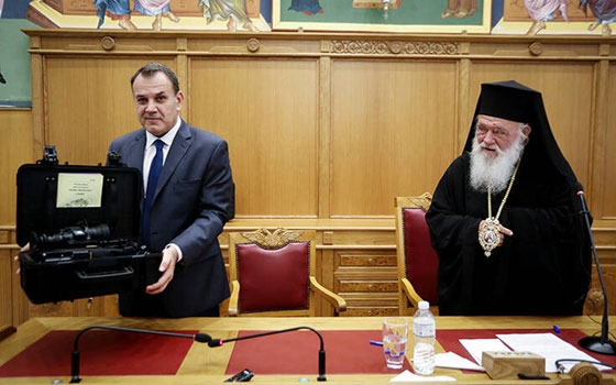 H Εκκλησία της Ελλάδος δίνει εξοπλισμό ύψους 49.000 ευρώ για τη θωράκιση του φράχτη στον Έβρο