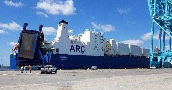 Το μεγαλύτερο μεταγωγικό πλοίο του Αμερικάνικου στρατού θα καταπλεύσει στο λιμάνι της Αλεξανδρούπολης